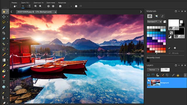 Powerful image editing software