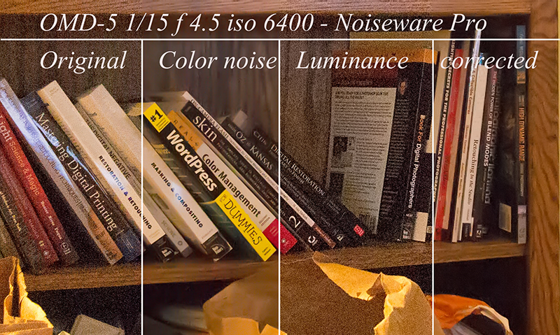 noise reduction in photo editing