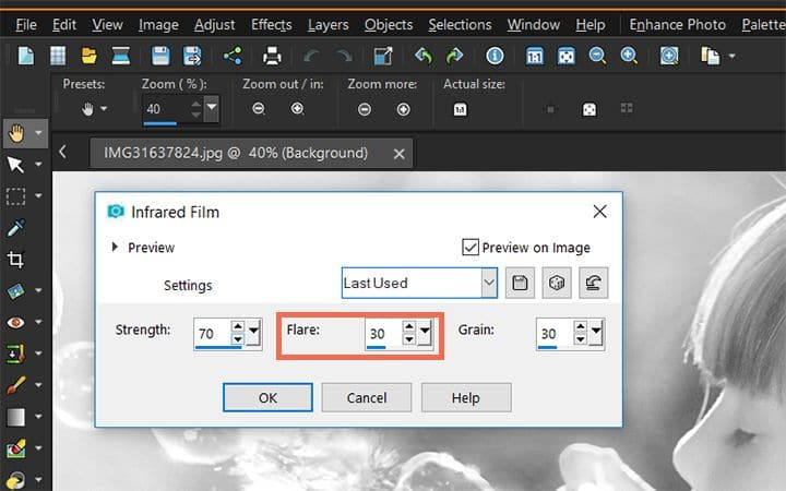 How To Add Photo Effects in PaintShop Pro