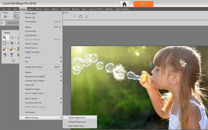 How To Watermark Photos in PaintShop Pro