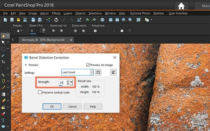 How To Correct Perspective Distortion in PaintShop Pro