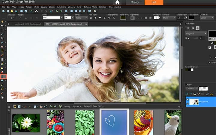 How To Make A Quote Picture in PaintShop Pro