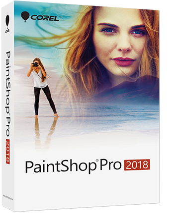 Software editor di foto PaintShop Pro