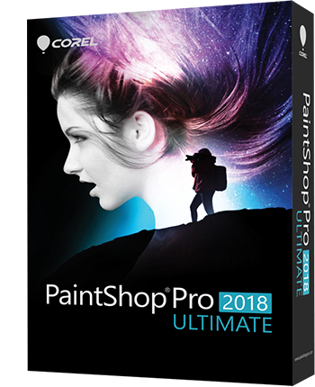 Software de edición de fotos profesional PaintShop Pro