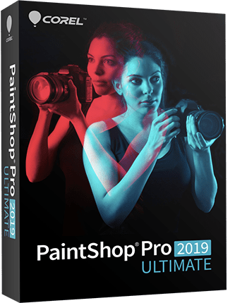 PaintShop Pro 2019 Ultimate - Photo editing software & bonus collection