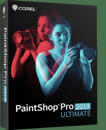 PaintShop Pro 2019 Ultimate - Photo Editing Software & Bonus Collection