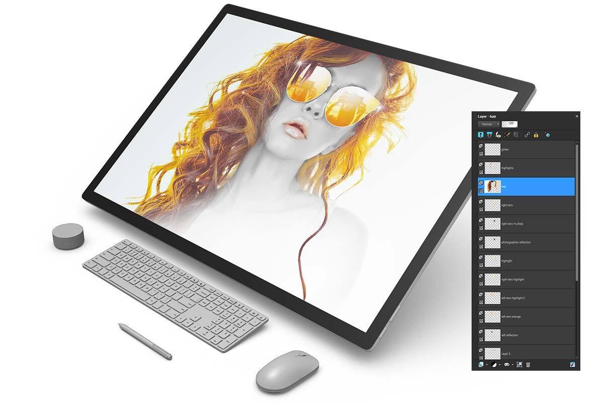 Photo editing software – PaintShop Pro 2020